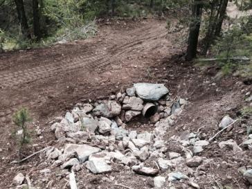 13 Buried ephemerial crossing after